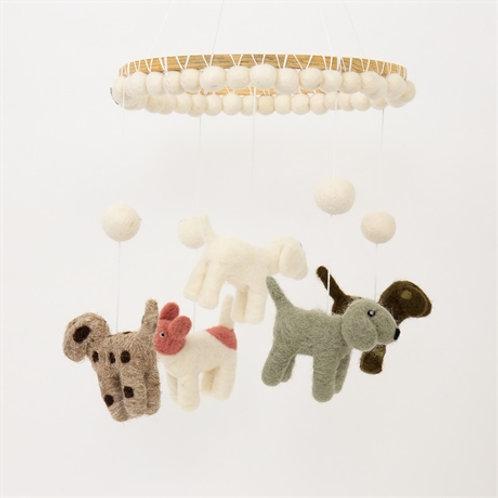 "Mobile""Dogs"" von Afroart Studio"