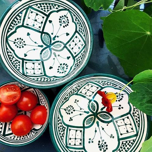 Geschirr aus Marokko