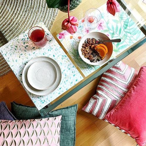 Frühlingshafte Tischset
