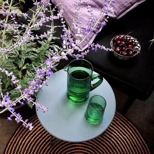 Wasserkrug / Glas