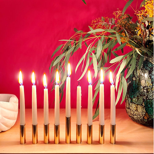 Hanukkah  Kerzenständer von Arno Wolf