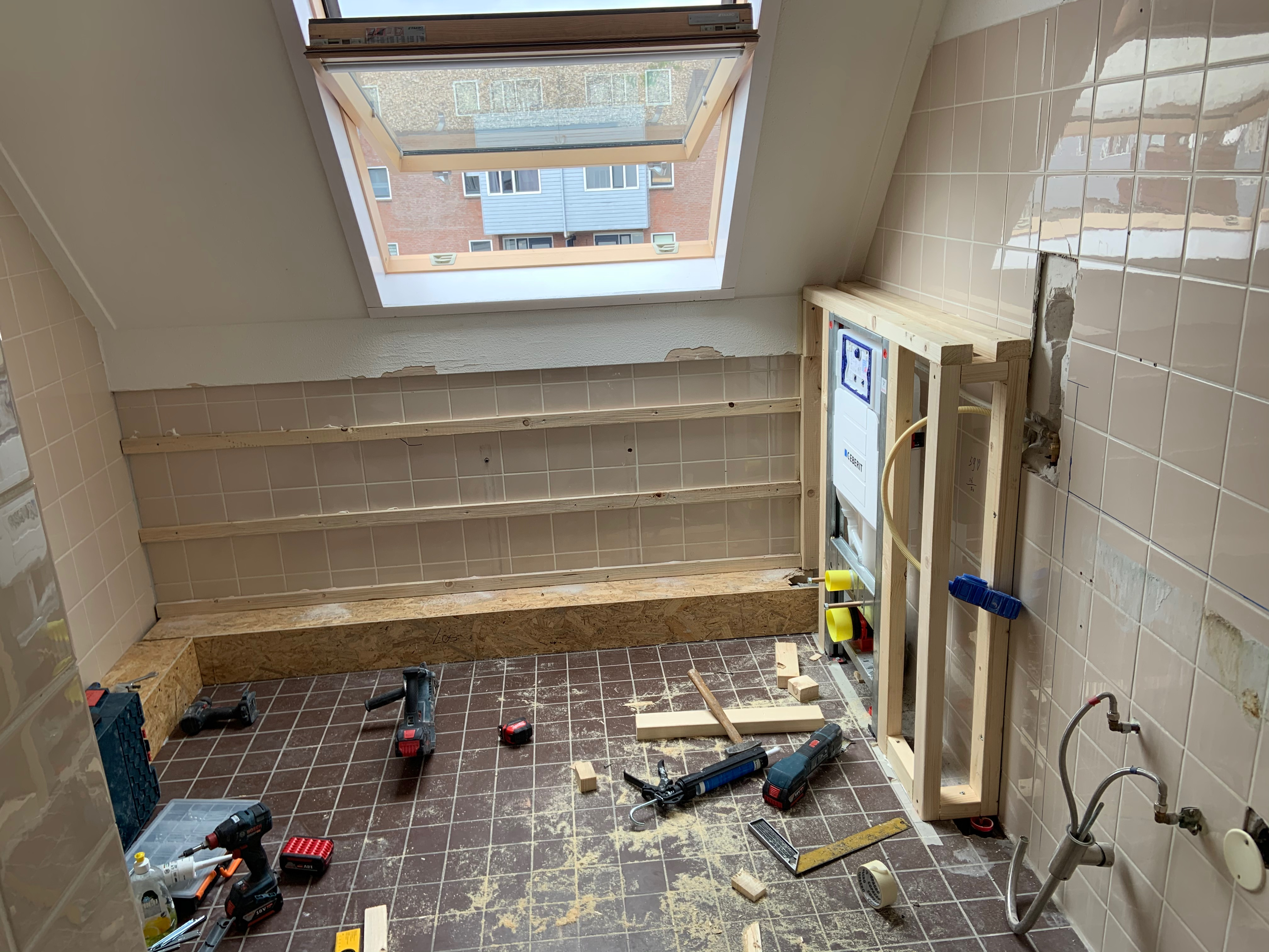 Nieuwe indeling badkamer | JPM Projecten