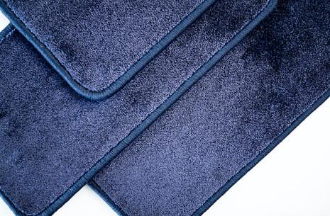 Festonneren blauw - TDL Karpetten