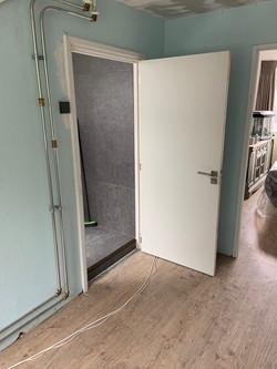 Deurkozijn inclusief deur geplaatst   JP