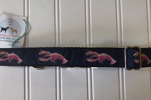 Dog Collar, Large - Lobsters
