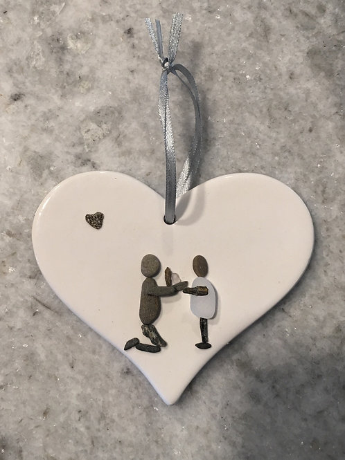 Engagement Ornament