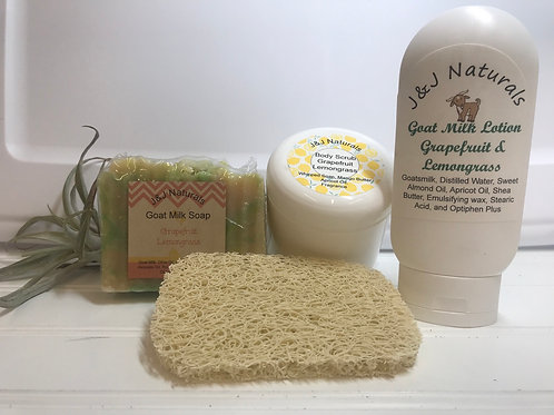 Body Products Gift Set