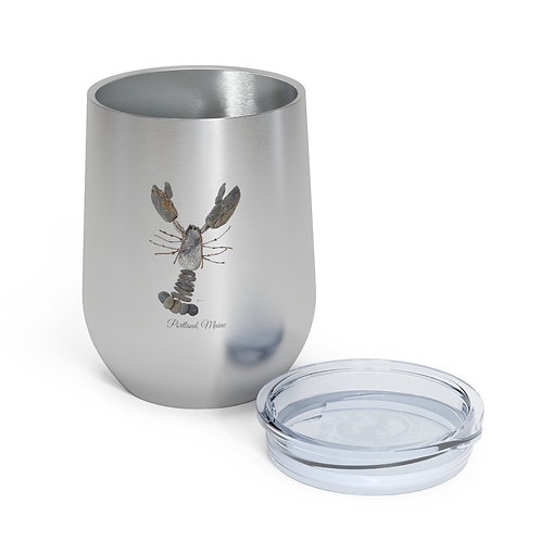 Rock Lobster Mainely Tidal Insulated Wine Tumbler