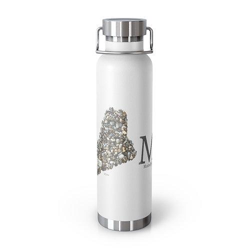 Maine Pebble Art Home 22oz Vacuum Insulated Bottle