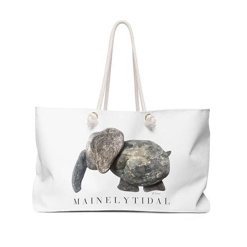 Elephant Mainely Tidal Weekender Bag, Shoulder Bag, Beach Bag, Boat Bag