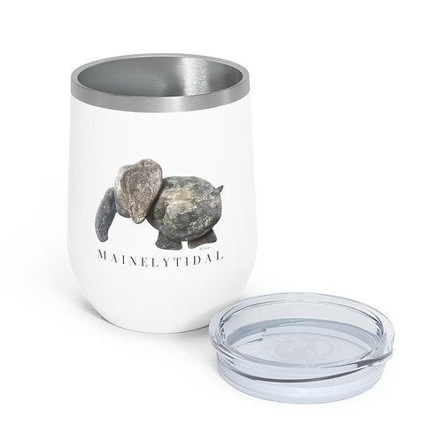 Elephant Mainely Tidal Insulated Wine Tumbler