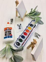 DIY Kit for Kids, Kids DIY Kit, Kids Craft Kit, Maine Art Kit, Pebble Art Kit, Gift for them
