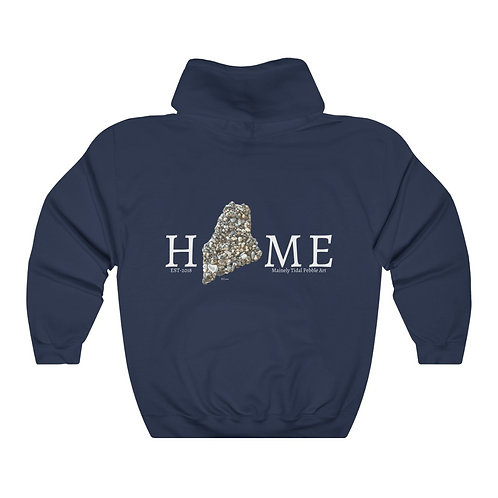 Maine Sweatshirt, Maine Art, Unique Sweatshirt, Unique Gift