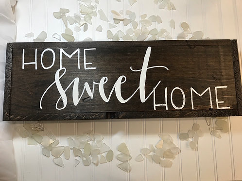 Long Home Sweet Home Hanging Sign