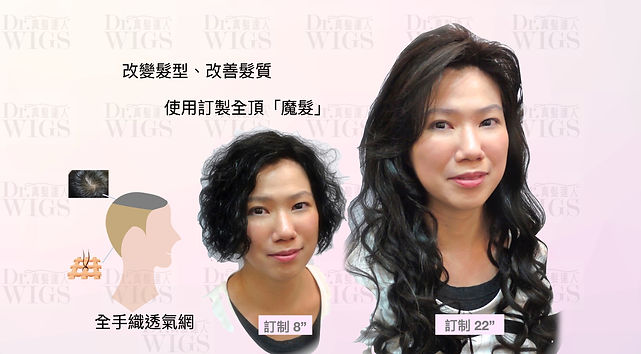改變髮型、改善髮質(真髪織髮)