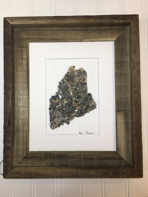 Maine State Art 8x10