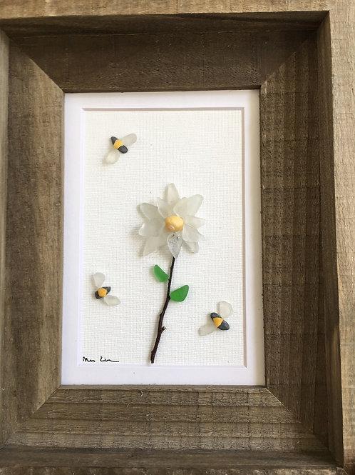 Gerber Daisy & Bees