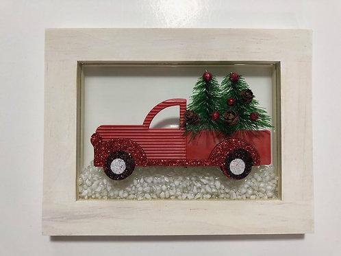 Farm Truck Resin Art