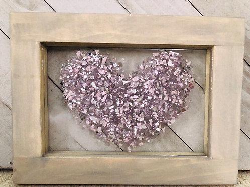 Heart Resin Art
