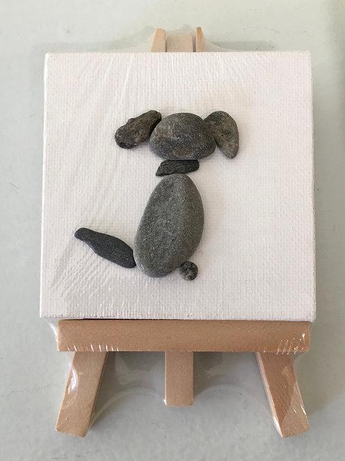 DIY Dog Maine Ocean Art Kit