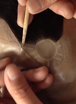 織髮是全手工製作的