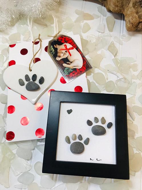 Dog Paw Gift Set