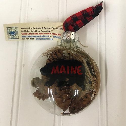Black Bear Ornament