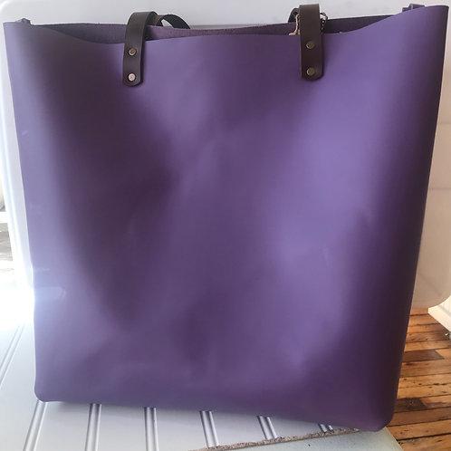 The Castine Tote - Purple