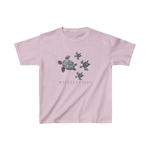 Turtle Family Kids Heavy Cotton™ Tee
