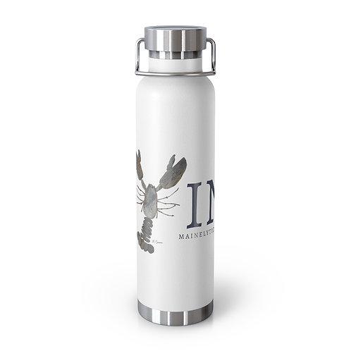 Maine Rock Lobster 22oz Vacuum Insulated Bottle