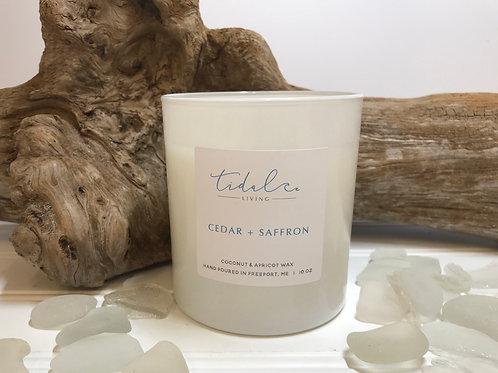 Cedar and Saffron Candle