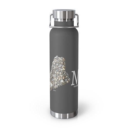 Home Pebble Art 22oz Vacuum Insulated Bottle