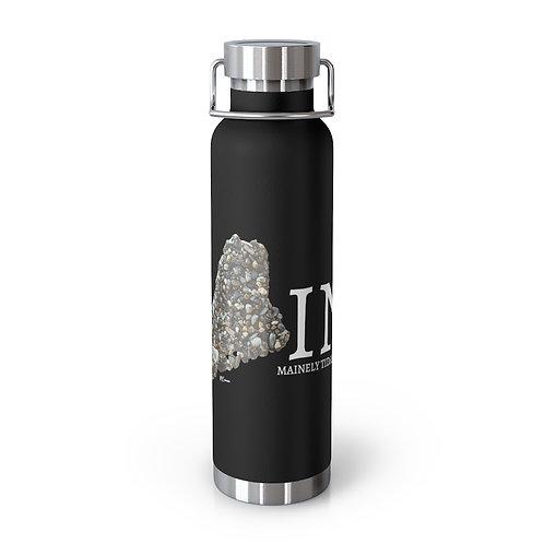 Maine Pebble Art 22oz Vacuum Insulated Bottle