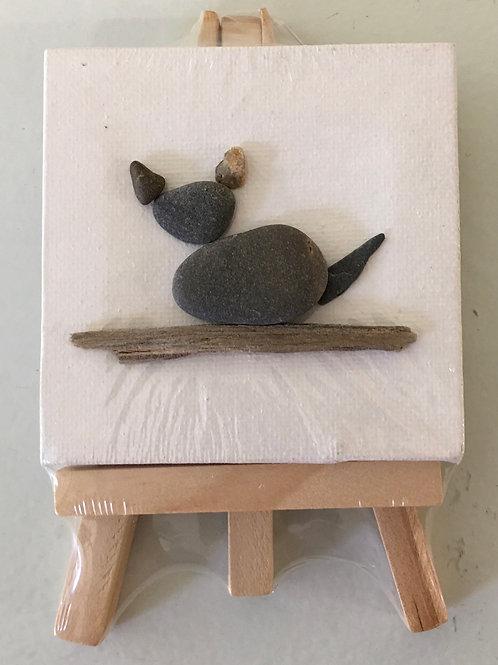 DIY Kitty Maine Ocean Art Kit