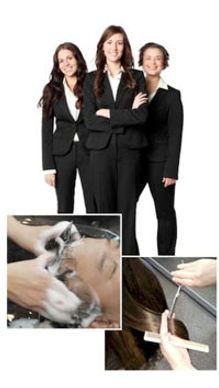 織髮後完善售後服務