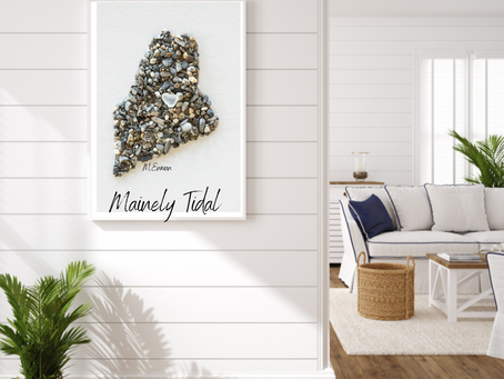 Made in Maine, Mainely Tidal Pebble Art Our Journey & What's Next?!