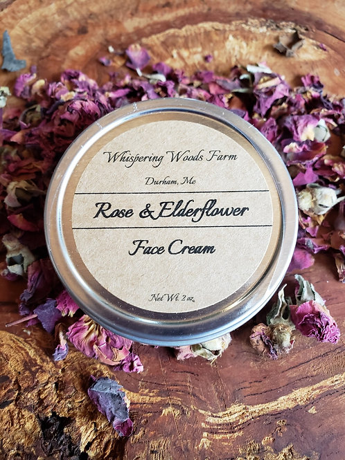 Rose & Elderflower Face Cream