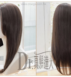 30cm 「全頭真髮」隨意修剪任何髮型