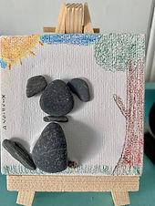 Pebble Art kit, DIY Kit for Kits, Kids Craft Kit, Birthday Party Kit, Birthday Party Favor, Dog Gift