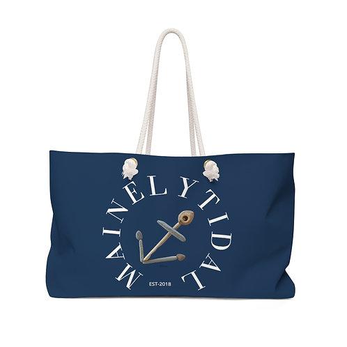 Maine Anchor Weekender Bag, Boat Bag, Beach Bag