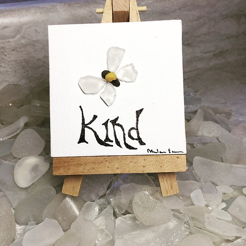 Bee Kind Maine Ocean Art Kit