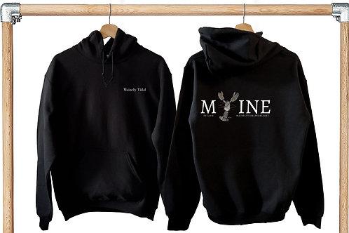 Maine Sweatshirt, Mainely Tidal Sweatshirt, Lobster Sweatshirt, Rock Lobster