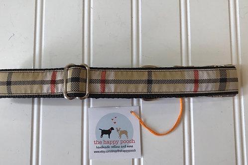 Dog Collar, Large - Plaid