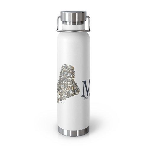 Maine Home Pebble Art 22oz Vacuum Insulated Bottle