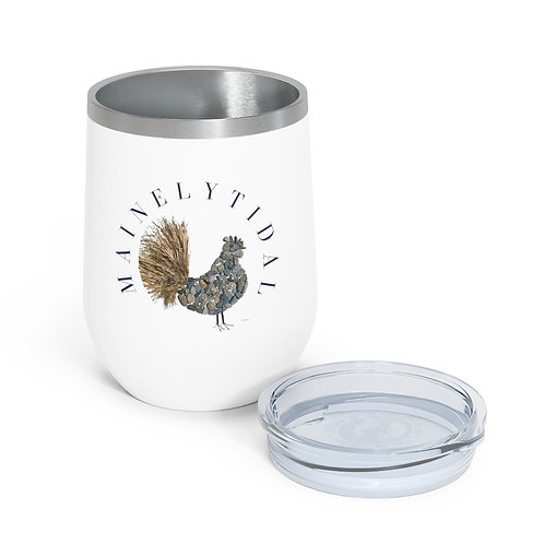 Maine Rooster Insulated Wine Tumbler