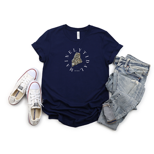 Maine T-Shirt, Portland Maine, Gifts for Him, Maine Art, Popular T-Shirt