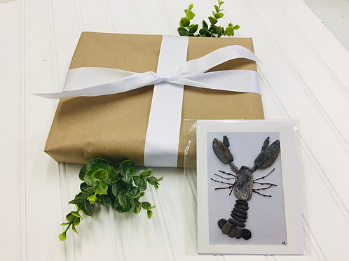 Gift Wrap & Mainely Tidal Greeting Card