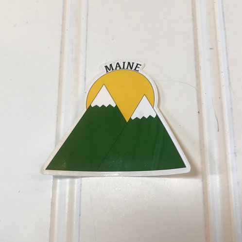 Small Maine Stickers