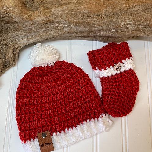 Infant Santa set
