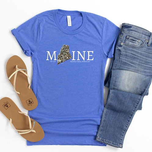 Maine T-Shirt, Portland, Maine, Gifts for Him, Mainely Tidal